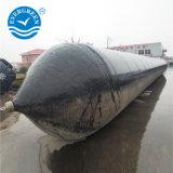 При перемещении тяжелых резиновых подушек безопасности морской перевозчик для массовых грузов