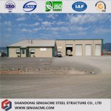 Os materiais de construção baratos da construção projetam o armazém da construção de aço