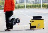 鍋または傾きのカメラの150mケーブルが付いている下水道の点検ロボット