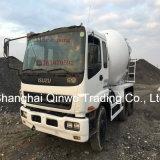 Vendita concreta del camion del miscelatore di cemento del Giappone Isuzu in Filippine (10PE1engine)
