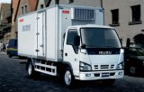 Vrachtwagen van de Ijskast van de Rij van Isuzu 600p de Enige Lichte
