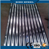 0,18mm DX51D Feuille de toiture en zinc/couleur/matériaux de construction de toit en acier