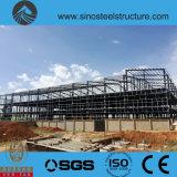 세륨 ISO BV SGS에 의하여 전 설계되는 강철 건축 창고 (TRD-076)