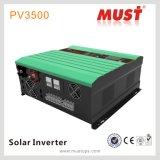 Regulador puro vendedor caliente de Withmppt del inversor de la potencia de onda de seno de la serie PV3500 de la necesidad