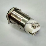 19mmの白い12V点LEDの自動閉鎖電気ドアスイッチ