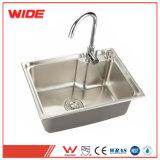 OEM Bol unique SUS304 petit évier de cuisine du dissipateur de lavage des mains