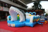 海の冒険の子供Chob538のための膨脹可能な障害物コース