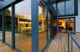 Portes coulissantes en aluminium à double vitrage Série 7150 avec aveugle mobile