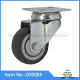 40mm weiche Gummirad-Fußrollen-Möbel-Fußrolle ohne Bremse