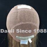Peluca natural del cordón del pelo para las mujeres