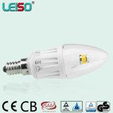 Perfeccione substituya la lámpara incandescente de la vela de la viruta 90ra Scob del CREE del bulbo E14 de 25W (LS-B304-B-CWW / CW)