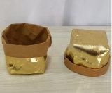 Бакалеи завода бака рождества мешка Brown мешок Washable Kraft Washable бумажный