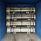 NP RP Leistungs-Grad-Kohlenstoff-Graphitelektroden HP-UHP für Lichtbogen-Ofen-Einschmelzen für Stahlerzeugung