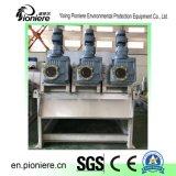 酪農場の下水のための廃水の処理場の沈積物の排水機械