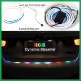 3 colori Iceblue & striscia dinamica del segnale degli indicatori luminosi LED di /Tail dell'indicatore luminoso di girata dei lampeggiatori LED del &Yellow/LED di automobile della striscia rossa del circuito di collegamento