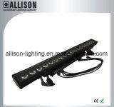 고품질 디스코 LED 세탁기 18X15W Rgbwauv-IP65