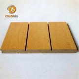 Visuellement attrayants de solides performances absorbant le son du panneau de bois en bois de l'acoustique