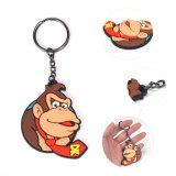 중국 제조자에서 최신 판매 주문 원숭이 디자인 열쇠 고리