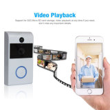 Casa de vídeo en color de la batería digital inalámbrico timbre de llamada para la seguridad del hogar