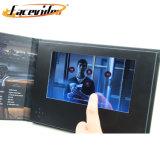 Facevideo Magazine Vidéo LCD TFT privé Invitation Catalogue Vidéo Carte pour la publicité de mariage