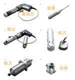 China máquina de corte da faca oscilante para banco do carro
