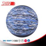 Promotion de cuir synthétique durable en PVC plastifié Ballon de basket-ball de sport