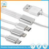 Lampo /Type-C/Micro più in un cavo di dati del USB del caricatore del collegare