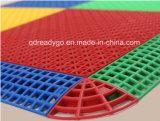El vinilo de PVC acanalada Baldosa Bottomtile PVC 100% de los materiales PP