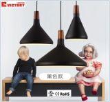 屋内照明の現代簡単な円形の金属のペンダント灯
