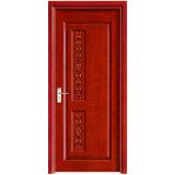Porta Artigianale In Legno Di Stile Moderno Semplice Intagliato Porta Interno (Yh-2039-1)