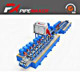 まっすぐな継ぎ目の高周波は機械を作る鋼管を形作ることを冷間圧延する