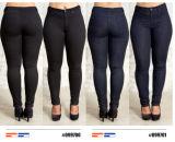 Женщин джинсовой Slim Fit Fashion пресс для брюк