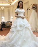 중국 사람 디자인 2017 신식 호화스러운 결혼식 무도회복 복장