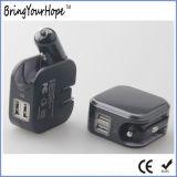 De multi Lader van de Adapter USB van de Muur van de Auto van de Functie (xh-uc-037)