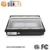 Utilização exterior 70W Wallpack LED de luz com a FCC ETL