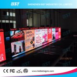 단계 배경을%s 작은 실내 임대료 발광 다이오드 표시 스크린 P6.25 SMD3528