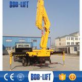 Fornitore della gru montato camion dell'asta dell'articolazione da 10 tonnellate