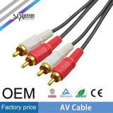 Sipu Mejor Precio 3RCA-3RCA Cable AV Cable de Audio Video