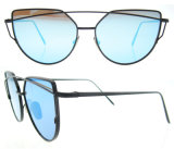 Óculos de sol feitos sob encomenda por atacado das mulheres da forma dos óculos de sol do logotipo
