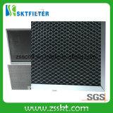 Carbón activo para filtro de aire
