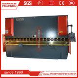 Il freno usato idraulico della pressa di CNC di E21 il Nc Wc67k 80t 3200mm, riveste la macchina piegatubi per il taglio di metalli e