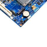 4*1000m Port RJ45 Pare-feu industriel de la carte mère Intel avec 2 disques SATA