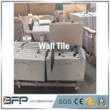 Mattonelle beige della parete del marmo di colore del fornitore cinese per dell'interno/esterno
