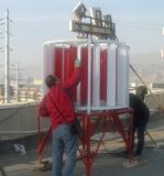 Dreiphasenc$wegrasterfeld 3kw vertikale Mittellinien-Wind-Turbine (SHJ-NEW3000)