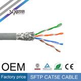 Cabo desencapado da rede da venda por atacado Cat5e do cabo de LAN do cobre SFTP de Sipu