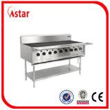 7 brûleurs S. Steel Barbecue à gaz à haute efficacité fabricant