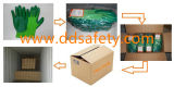 2017 Ddsafety 13 индикатора зеленый нейлоновая оболочка зеленый нитриловые покрытие гладкая отделка рабочие перчатки
