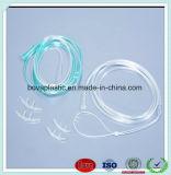 Niet-toxische Cannula van de Zuurstof van de Output Medische Beschikbare Neus