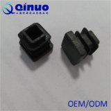 Preço de fábrica de China tampões de extremidade plásticos dos PP do quadrado preto de 13 milímetros