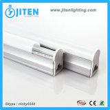 El tubo ligero 16W de T5 LED borra la cubierta, Ce de la luz del tubo del LED T5 aprobado